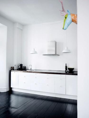 stunning kitchen black floor pictures - home design ideas