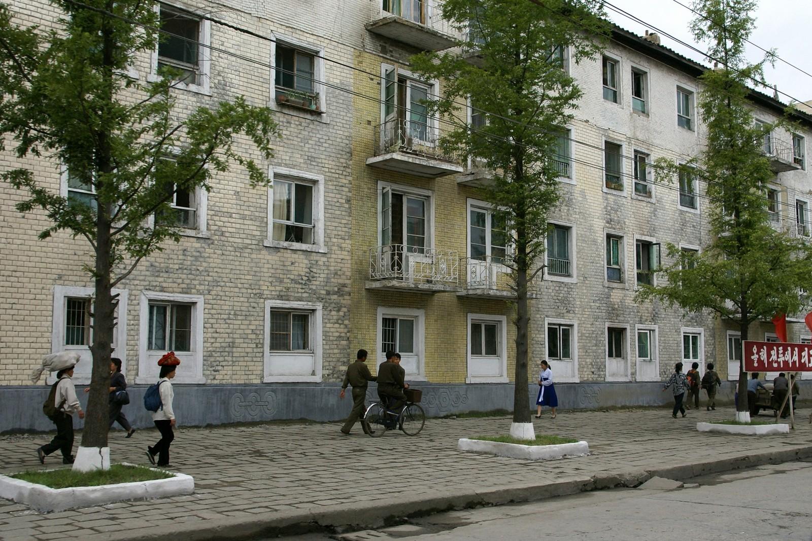 Wonsan street scene