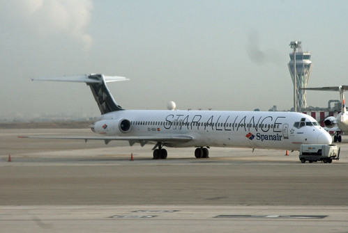 Spanair McDonnell Douglas MD-83 (EC-GXU)