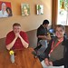 Chris Gulker and Scott Loftesness at Cafe Zoe by SJL