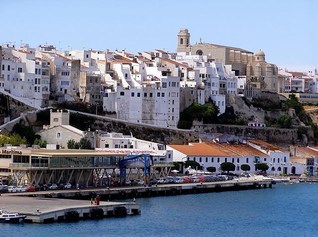 photo - Mahon, Menorca  Port Mahons pier, our cruise ship…  Flick...