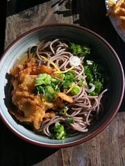 Tensoba (tempura + soba)
