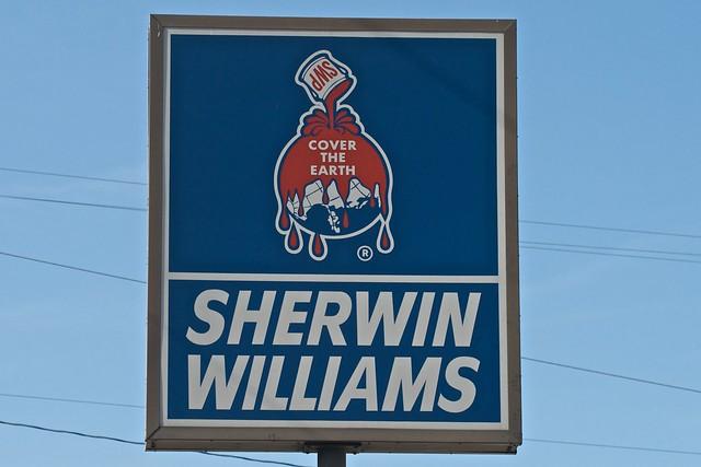 sherwin williams logo flickr photo sharing. Black Bedroom Furniture Sets. Home Design Ideas