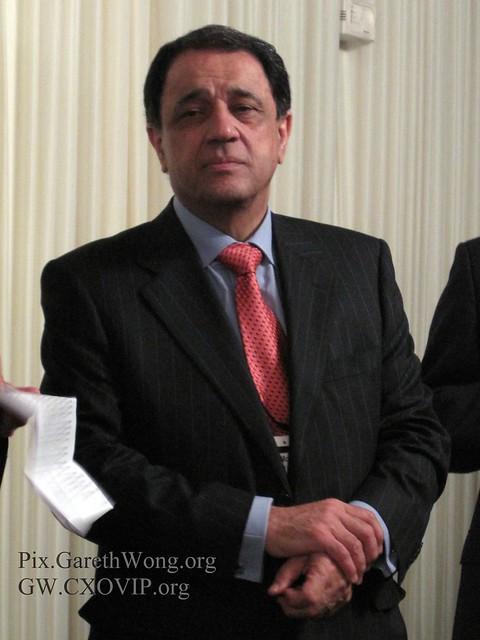 Dr. Burhan Al-Chalabi, Publisher who saved London Magazine IMG_3170