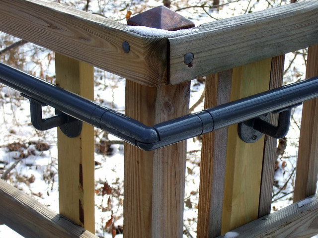 ADA Railing Install - Lincoln Birthplace NHP