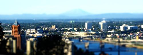 Portland Tilt-shift