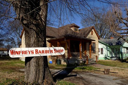 Vernon Winfrey's Barber Shop | Flickr - Photo Sharing!