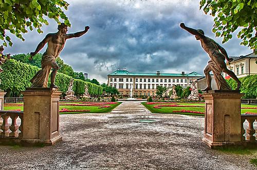 Mirabel gardens,Salzburg,Austria