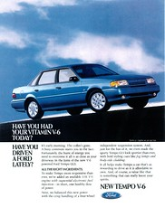 1992 Ford Tempo GLS (USA)