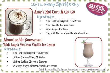 New Holiday Recipes: Hot Coco A Go-Go & Abominal Snowman