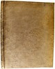 Binding and spine of Diogenes Cynicus: Epistolae [Latin]
