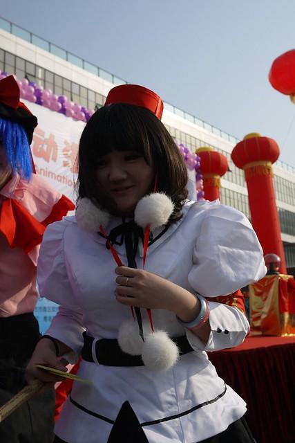 青岛的动漫艺术展_和邪社09