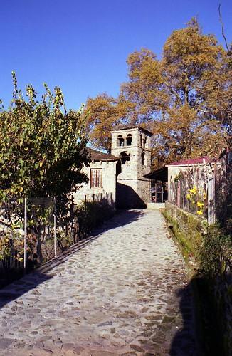 Entering the village of Ganadio