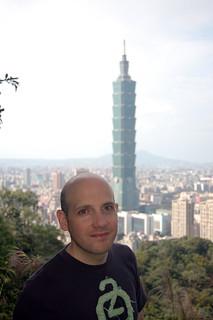 Rob on Elephant Peak, Taipei, Taiwan