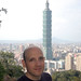 Rob on Elephant Peak, Taipei, Taiwan by Rob Young