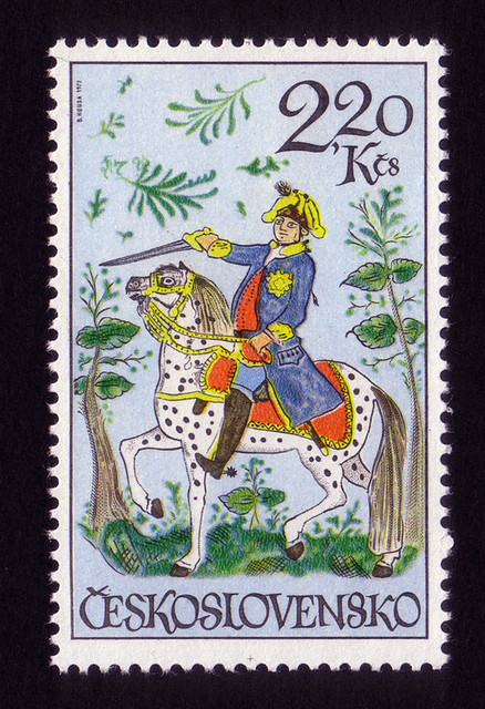Slovakian horseman