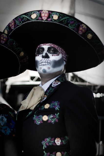 Day of the Dead costume, Los Angeles | Flickr - Photo Sharing!