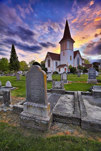 new christchurch church cemetery st photoshop canon pauls canterbury zealand nz 7d tombstones 1022mm hdr anglican lightroom 10mm 3xp papanui dphdr mygearandme mygearandmepremium mygearandmebronze