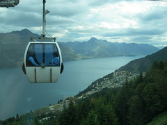 fjord, mountain, mountain range, lake, cable car, mountainous landforms,