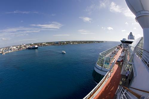 cruise caymanislands grandcayman caribbeansea fisheyelense jeweloftheseas seaboardventure