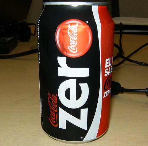 Mexican Coke Zero #1 by scumdogsteev