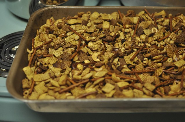 toasted chex mix