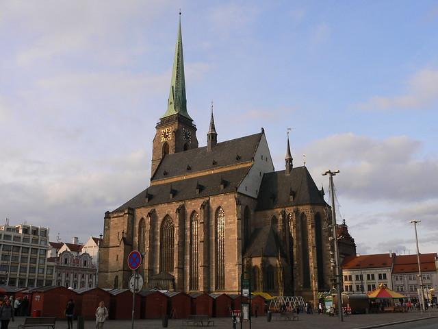 Katedrála svatého Bartoloměje. Plzeň. Czech Republic