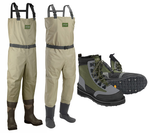 Ask an expert bootfoot or stockingfoot waders repost for Fishing waders with boots
