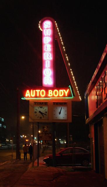 Superior Autobody Sign
