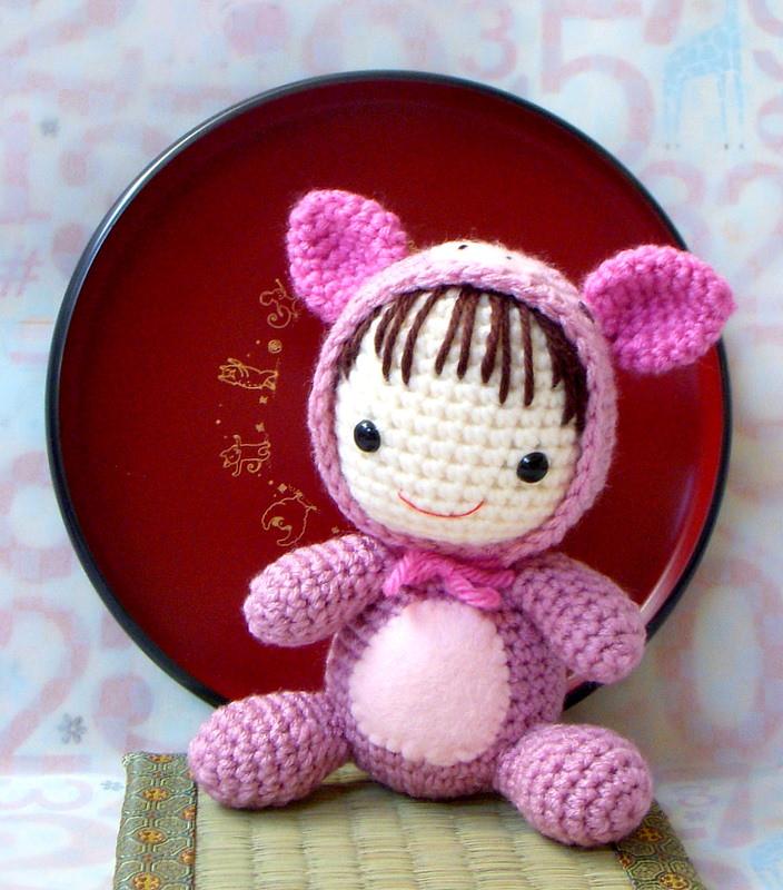 Häkeln Sie Baby Pig Amigurumi   Crochet pig   800x704