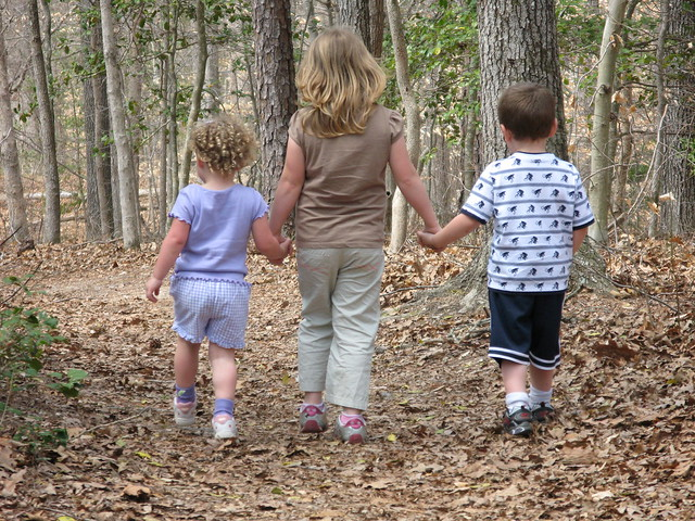 Children Walking on Trail | Flickr - Photo Sharing!