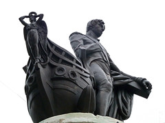 Statue of Lord Nelson by Richard Westmacott Jr.