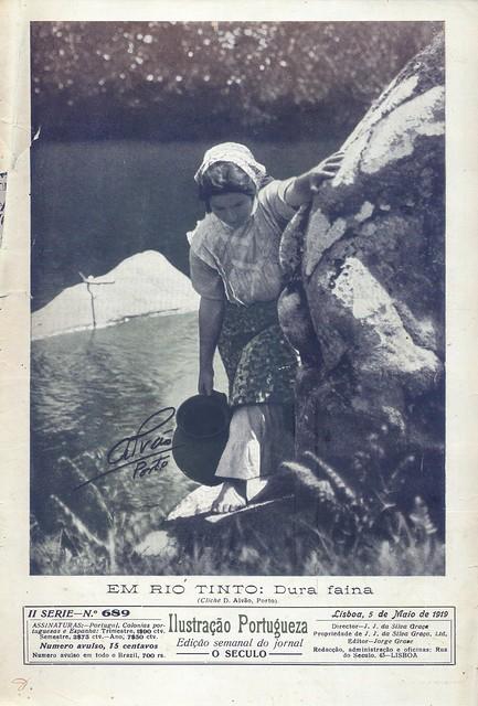 Ilustração Portugueza, Nº 689, Maio 5 1919 - capa