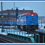 "Metra:""Lake County""  At M-19-A diesel shop: Chicago"