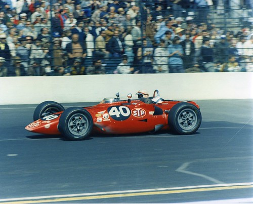 Parnelli Jones's STP Turbine in the 1967 Indianapolis 500