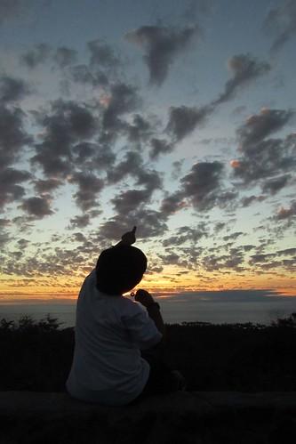 ocean family boy sunset sea sky clouds hawaii shapes grandson pacificocean bigisland kona scenicoverlook 2011 honaunau southkona honaunaubay honaunauhi barryfackler barronfackler jacquesliquie