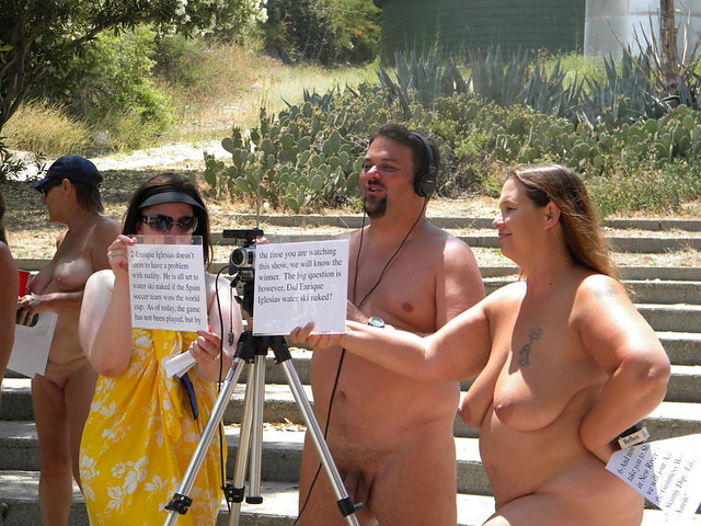 Clothes Free nude in the news crew. Scenes from the fun and activity that ...