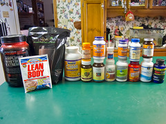 Supplements (or a visual representation of my craziness)