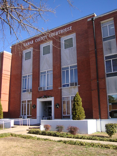 Lamar County Courthouse Detail (Vernon, Alabama)