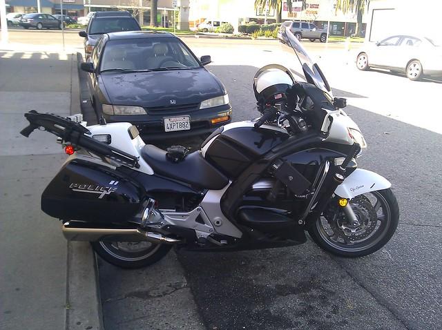 Honda Police Motorcycle Flickr Photo Sharing