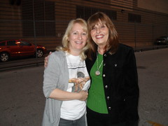 With Lucy Smith, Hope Literacy, outside Dawson Correctional Facility, FW, Texas