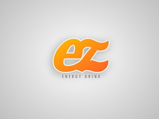 EZ Energy Drink Logo (Branding)