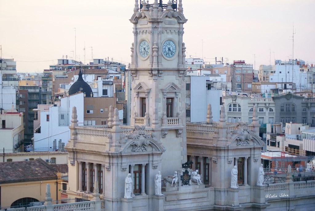 Valencia desde el Edificio Telefonica (1)