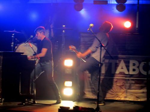 Attaboy Rocking On Stage.