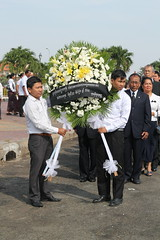 Day of Mourning in Cambodia