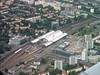 Dresden Luftbild Hauptbahnhof 2005