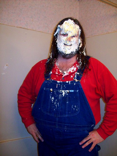 Byzantiums shores chronicling the misadventures of an overalls pie in the face splat the aftermath of three coconut cream pies in my solutioingenieria Choice Image