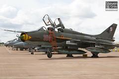 308 - 17532366308 - Polish Air Force - Sukhoi SU-22UM-3K - 100717 - Fairford - Steven Gray - IMG_3700