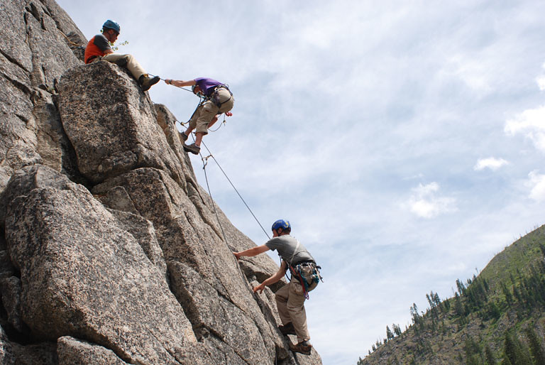Climbing School and Training in Leavenworth - Rock Rescue ...