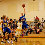 10-12 Bsktbll HS - Whitinsville Christian School Crusaders vs New Leadership Wildcats - 77
